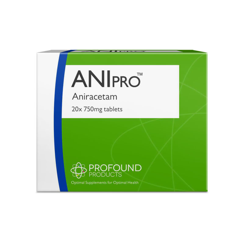 ANIpro product packaging for Aniracetam tablets