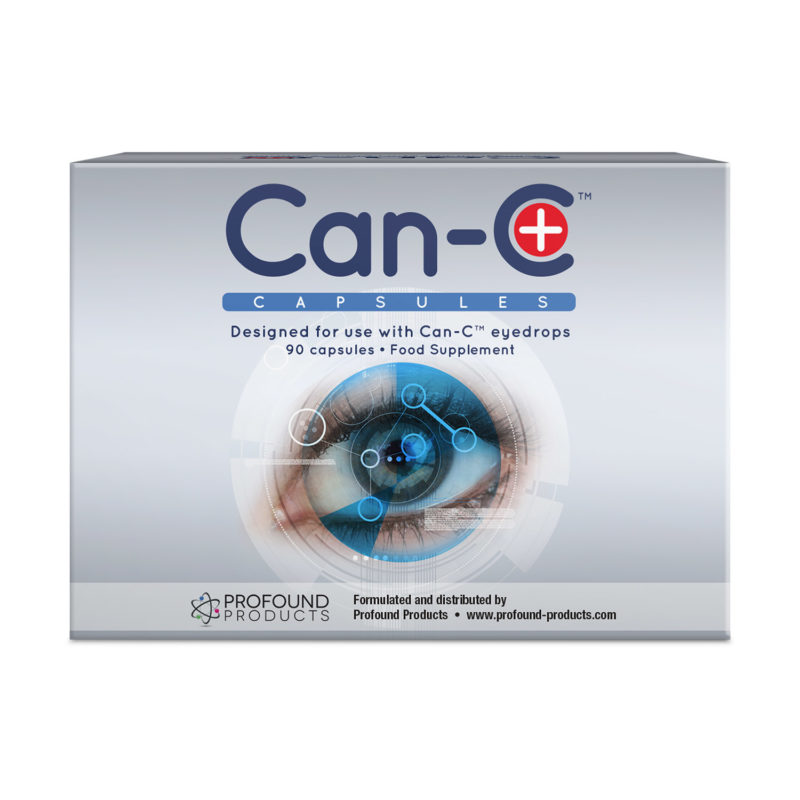 Can-C Plus product packaging for dietary supplement capsules