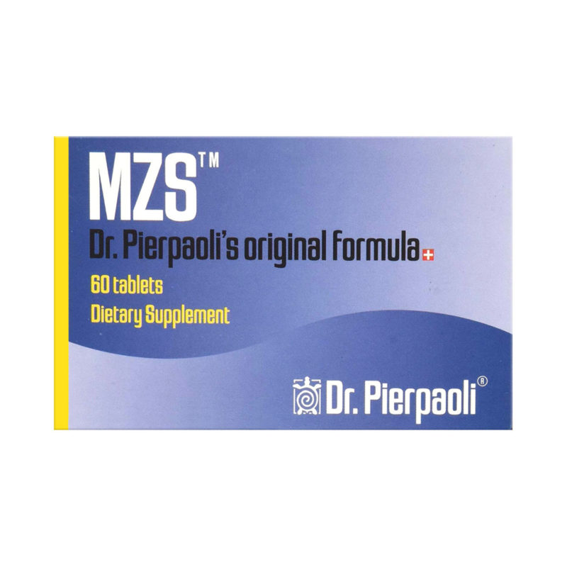 MZS product packaging for dietary supplements
