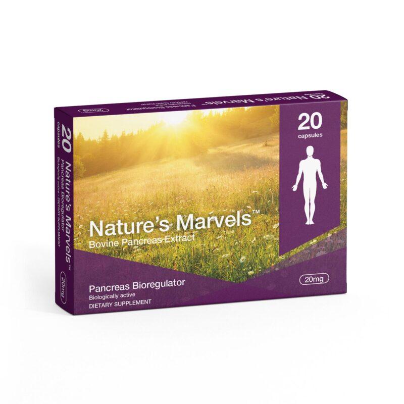 Pancreas Bioregulator dietary supplement packaging front