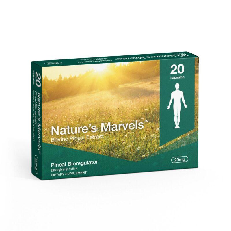 Pineal Bioregulator dietary supplement packaging front