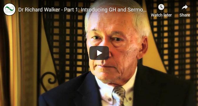 Screenshot of an IAS YouTube video about Dr Richard Walker