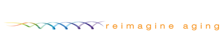 Sens Research Foundation Logo with white and orange text