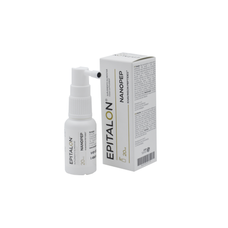 Epilation product packaging for Nanopep spray